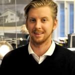 Emil Westerlind på Westerlind Fastigheter tror på tillväxt i Härnösand, både på kort och lång sikt.