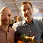 Johan Wester och Jon Hillgren på Hernö Gin vinner ständigt nya priser. Nu har Jon chansen att bli Årets företagare i Sverige.