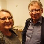 Synnöve Häggdin, Häggby Gård och Gustav Malmqvist, MIDEK var två av de engagerade företagarna som var med och diskuterade Nya Ostkustbanan.