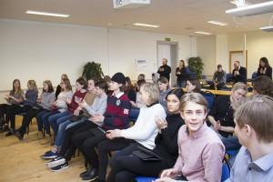 Ettorna på ekonomiprogrammet, Härnösands gymnasium, ska arrangera en entreprenörsdag för de äldre ekonomieleverna.