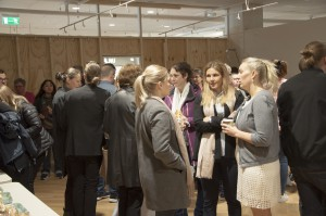 Projektet presenterades för handlare, fastighetsägare, andra företagare och representanter för Härnösands kommun.