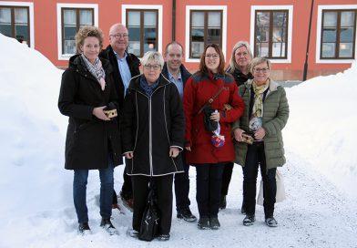 Landshövdingen på företagsturné i Härnösand