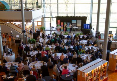 Tillväxtdag avslutade vårens företagsfrukostar på Sambiblioteket