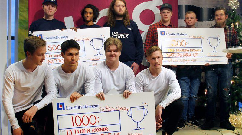 Grattis till vinnarna under den lokala UF-mässan i Härnösand