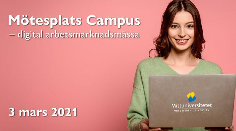 Säkra kompetens – delta i  Mittuniversitetets största arbetsmarknadsmässa